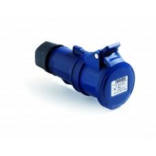 Cupla industriala monofazata 230V 3P 32A 6h IP44 Famatel