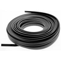 Cablu plat 2x1,5mm x 50 metri negru Famatel