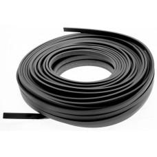 Cablu plat 2x1,5mm x 25 metri negru Famatel