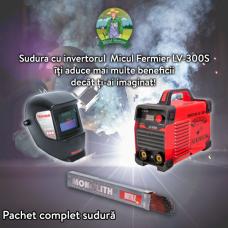 Pachet complet de sudura - Invertor + Masca automata + Electrozi