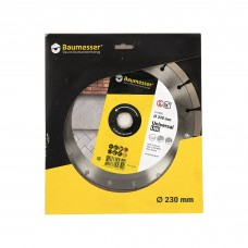 Disc diamantat 230x2,4/1,6x10x22,23-16 Baumesser