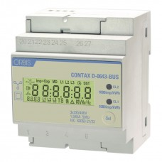 Contor modular trifazat digital masura indirecta Contax D-0643-BUS Orbis